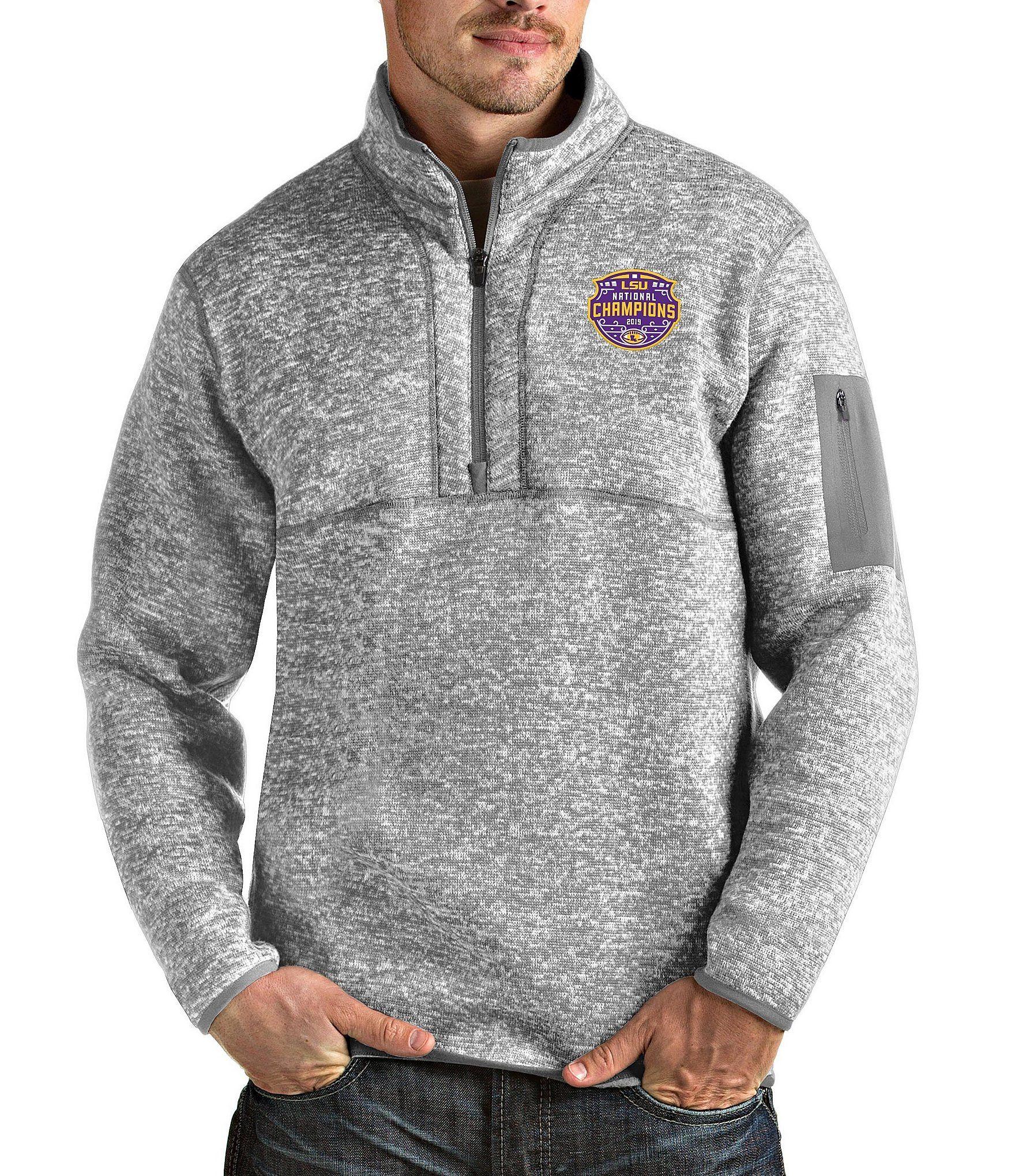Champion NCAA Mens Team Quarter Zip Pullover