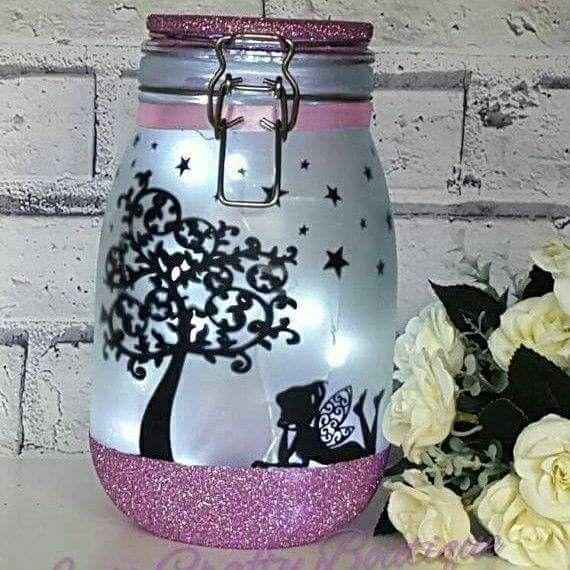pin von anneliese schmidl auf windlichter vasen lampen schneekugeln u leuchtflaschen pinterest. Black Bedroom Furniture Sets. Home Design Ideas