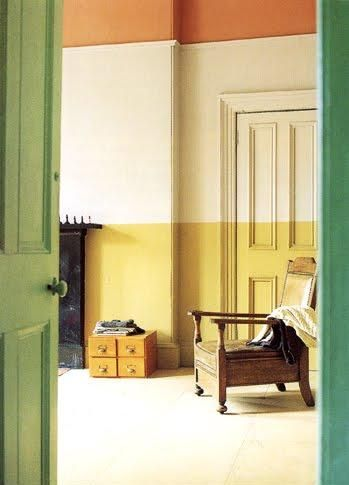 colour block walls | Shaker style furniture, Color blocking and ...