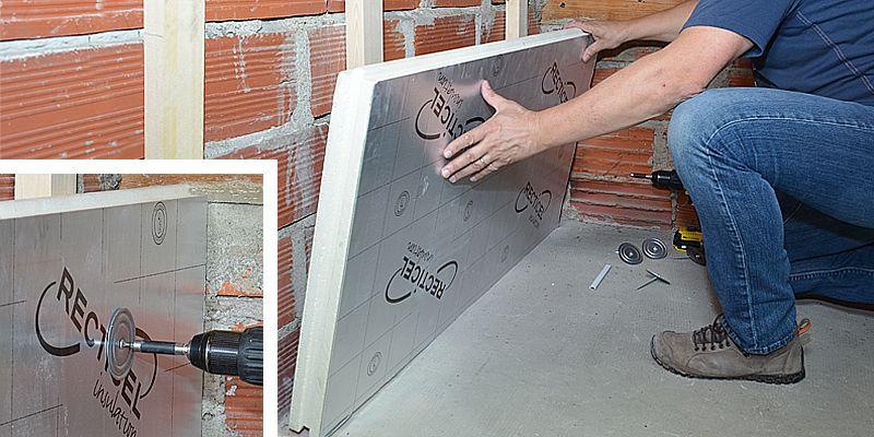 Comment Isoler Un Mur Avec Des Plaques De Polyurethane Isolation Mur Comment Isoler Un Mur Renovation Vieille Maison