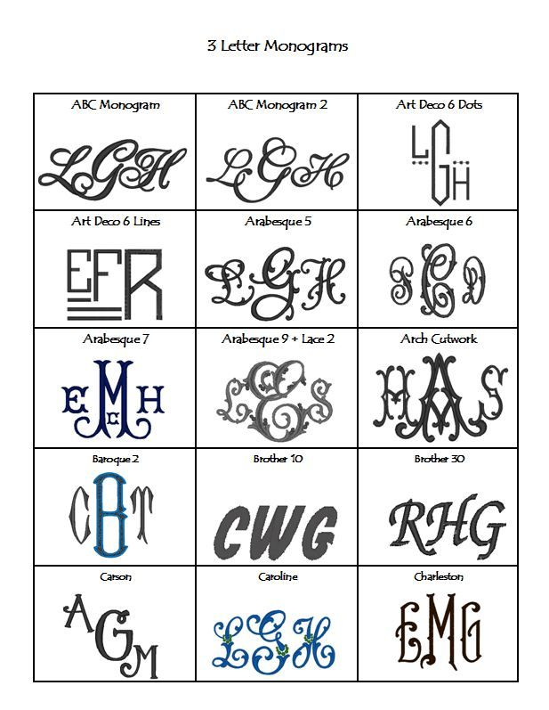 3 letter monogram fonts webpage embroidery styles page 3 3