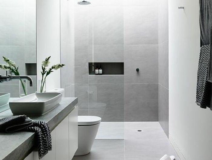 Mille idées d\u0027aménagement salle de bain en photos Open plan