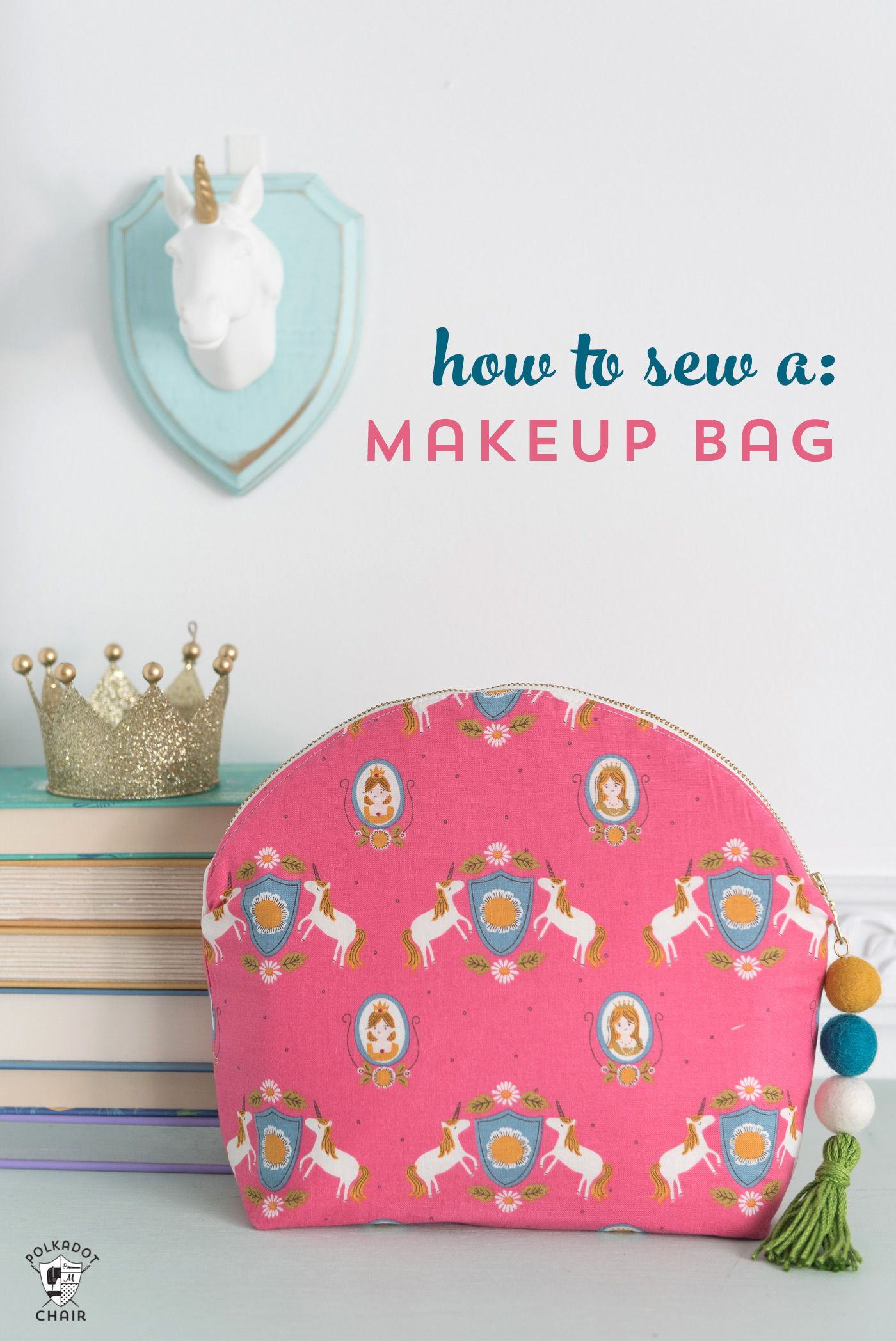 Makeup Bag Project Bag Witch/'s Brew Open Wide Pouch