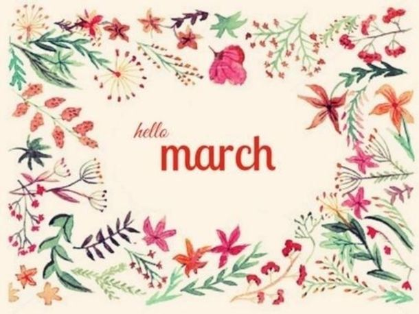 120 Hello March Quotes Calendar Art Hello March March March Quotes