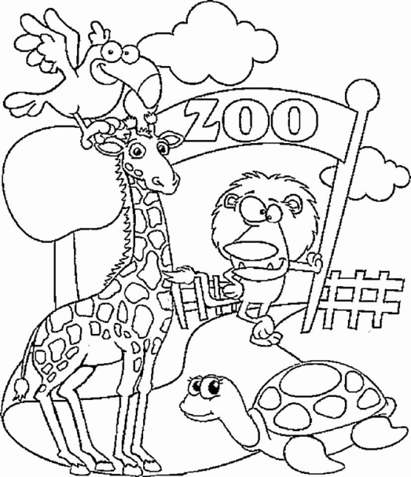 Printable Zoo Animal Coloring Pages Beautiful Get This Preschool Zoo Coloring Pages To Print Zoo Animal Coloring Pages Zoo Coloring Pages Puppy Coloring Pages