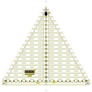 Http Www Centralpatch Com 115 506 Thickbox Regla Triangular Ideas 20 Cm 60 Jpg Triangulares Patchwork Patchwork A Mano