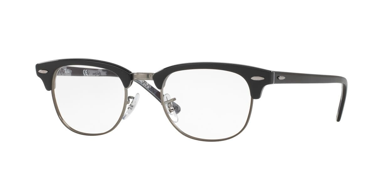 c69d4697ce Retro and timeless is how we would describe the Ray-Ban Clubmaster  eyeglasses.  rayban  glasses  spectacles  sunglasses