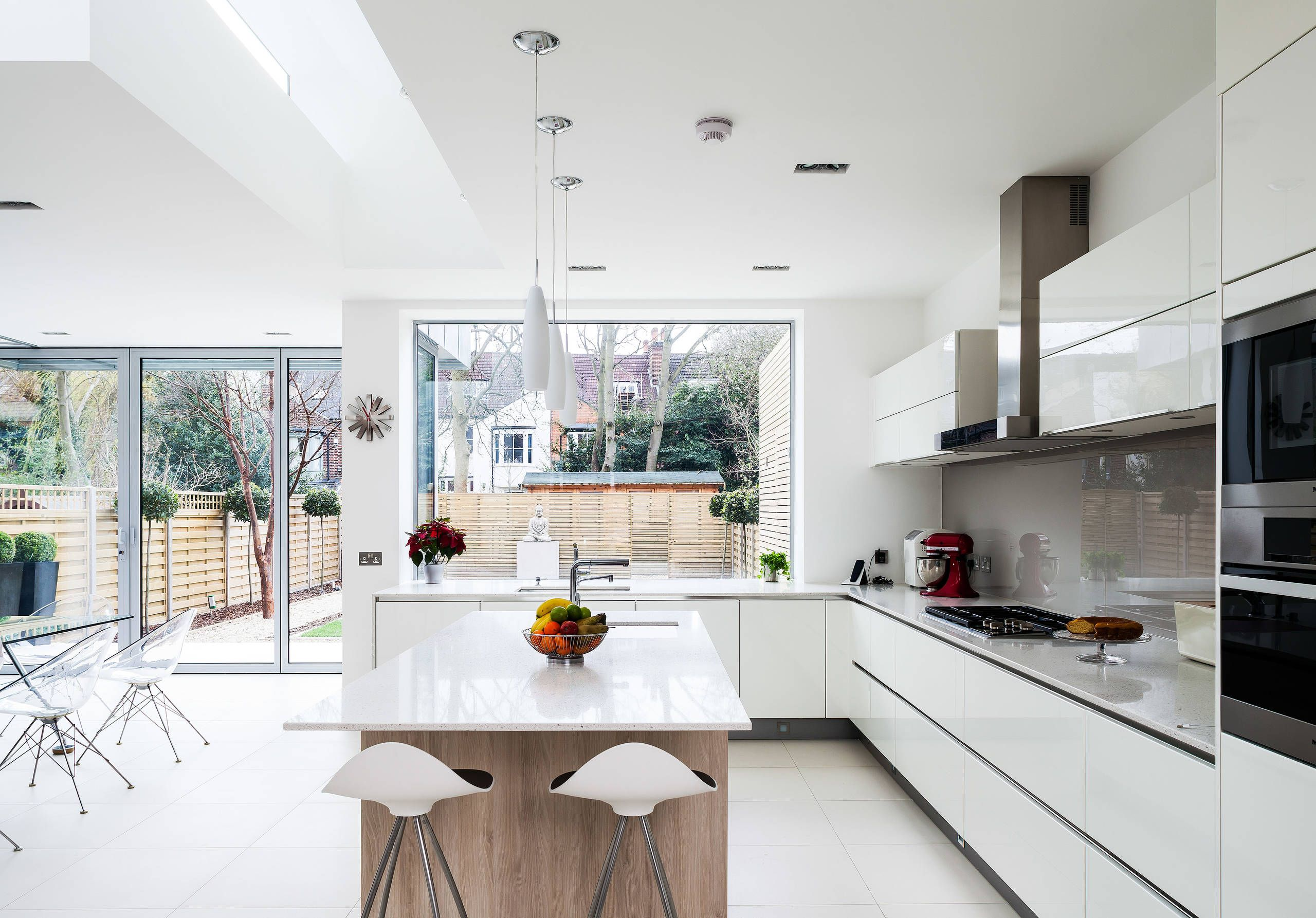 Houzz crouch hall rd contemporary kitchen london in