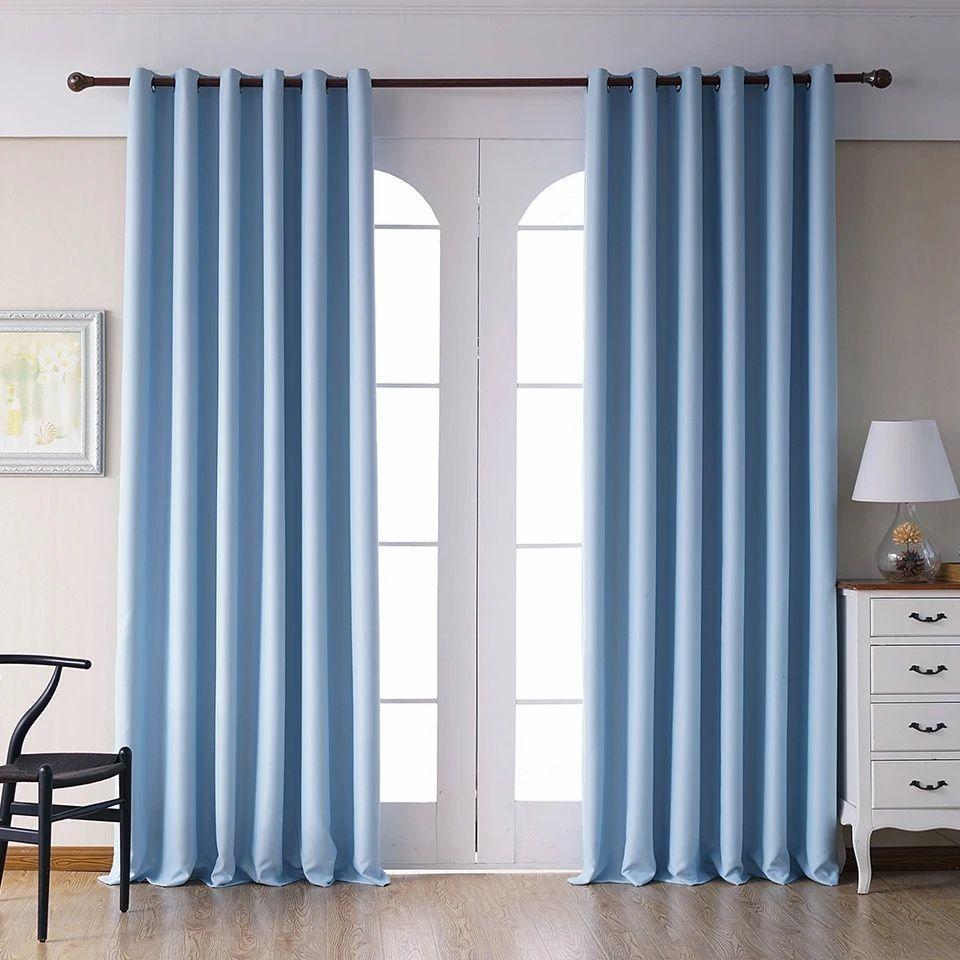 rideau occultant bleu ciel rideaux