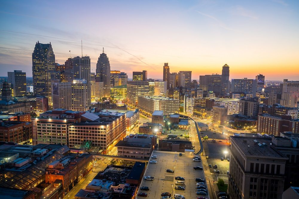 The largest and most populous city in U.S state of