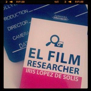 El documentalista audiovisual y film researcher , artículo en BiblogTecarios