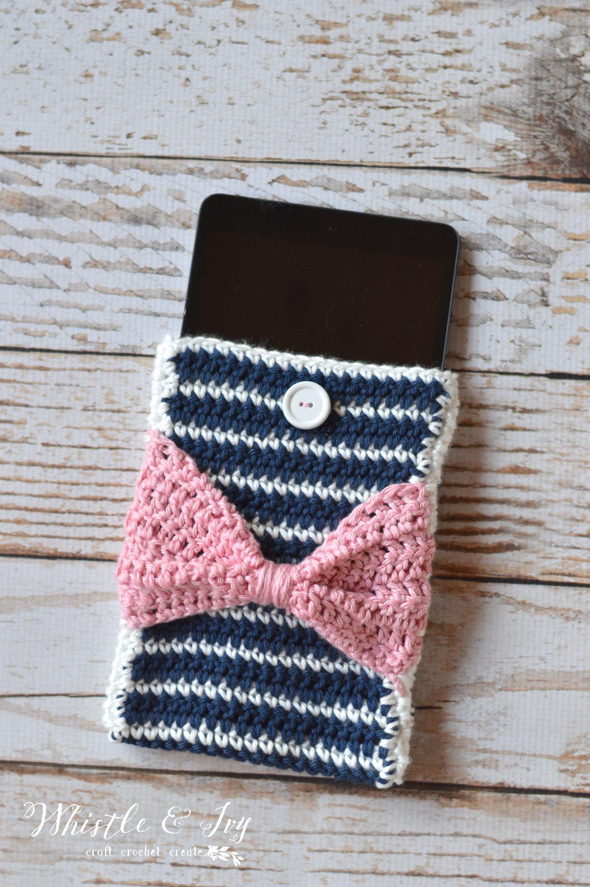Fancy stripes device pouch free pattern the ojays and customize free crochet pattern fancy stripes device pouch customize this fun pattern for any device bankloansurffo Gallery
