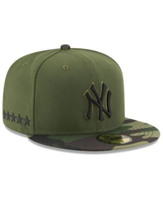 separation shoes b3fe8 3bccf New Era New York Yankees Memorial Day 59FIFTY Cap - Green 7 1 8