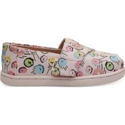 Toms Shoes Pink Donuts Classics For Toddlers  Size 27 TomsToms  Toms Shoes Pink Donuts Classics For Toddlers  Size 27 TomsToms