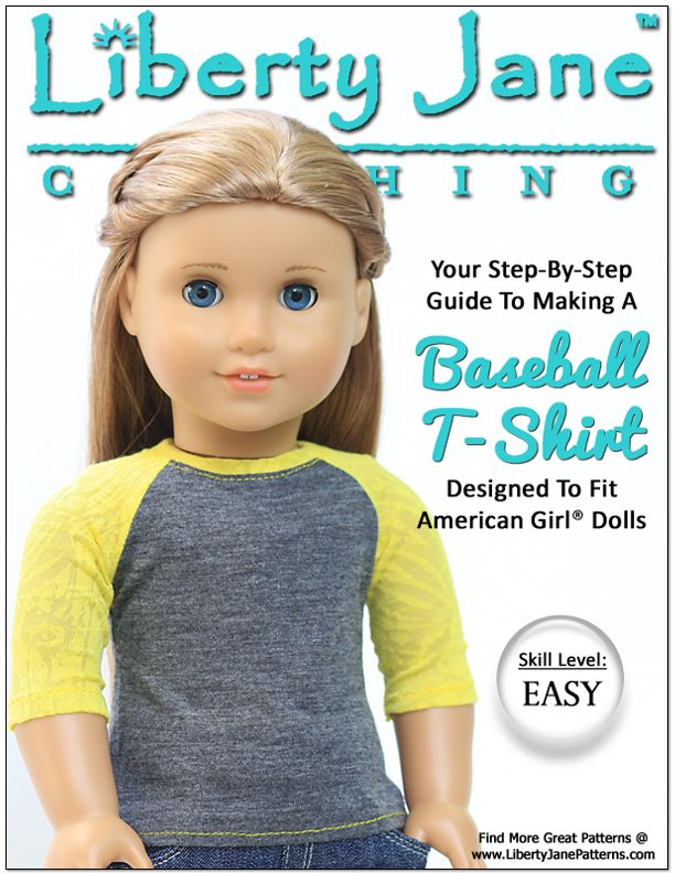 American Girl Clark Doll With Book