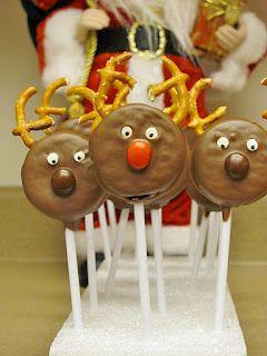 Edible Reindeer = class party