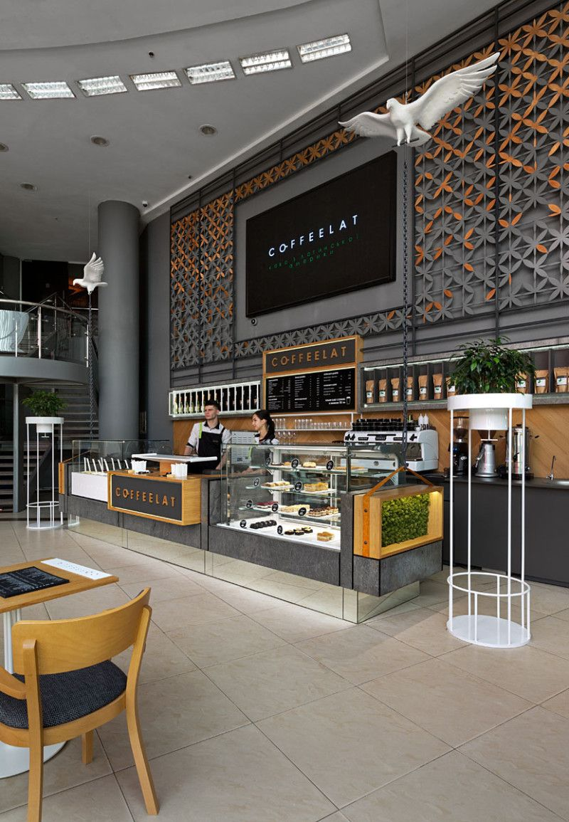 Open type cafe COFFEELAT GLOBUS in Kiev | COFFEELAT GLOBUS ...
