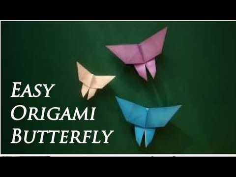 How to make Origami Butterfly - YouTube | 360x480