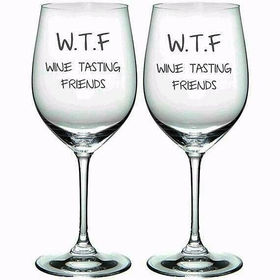Wine is best shared with friends