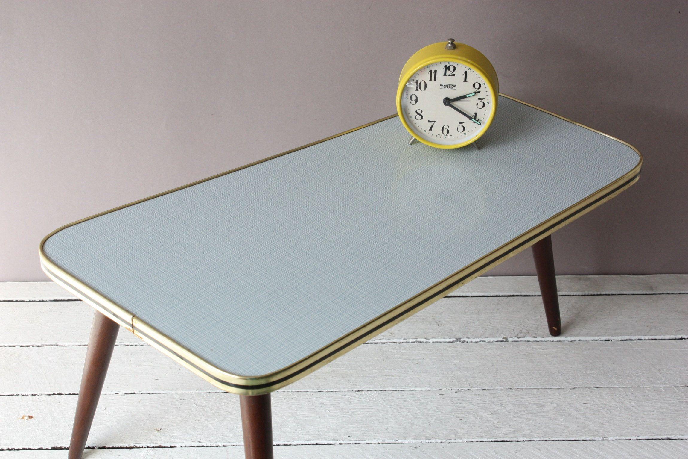 Blumenhocker Vintage 50er 60er Beistelltisch Kleiner Tisch