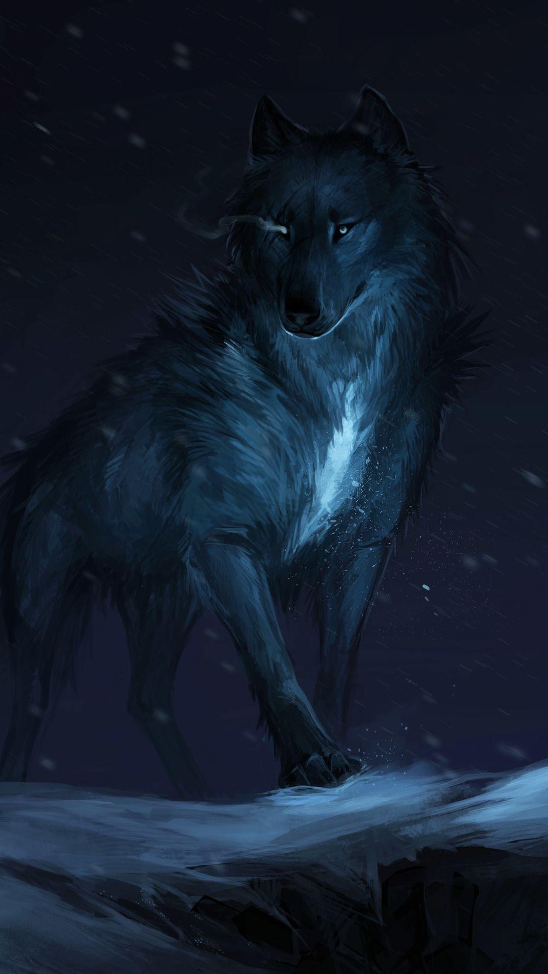 Wolf Drawing Wolf Wallpaper Fantasy Wolf Wolf Spirit