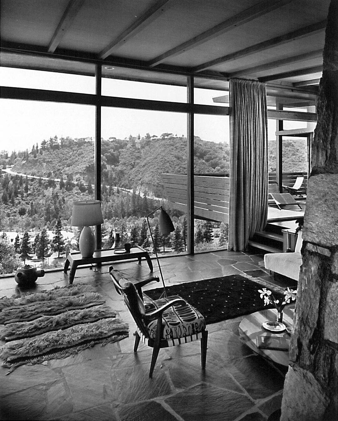 Home interior icon photo  of  in design icon greta grossman  interiors mid century