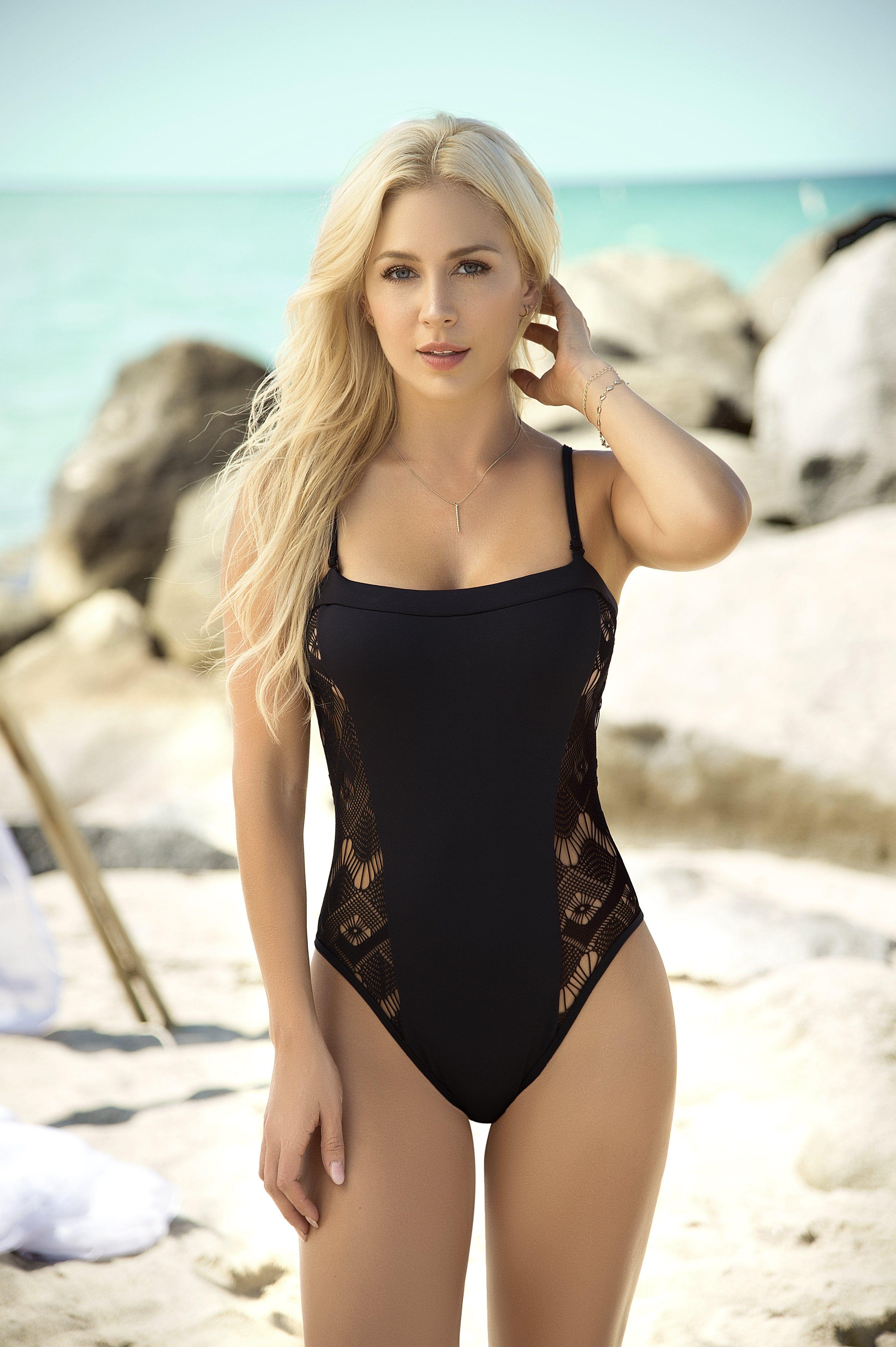 d4b5654fdfefd Lina Posada - Mapale Resort 2018   Lina Posada   Lace swimsuit ...