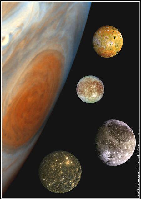 Jupiter's Satellites 경외감.