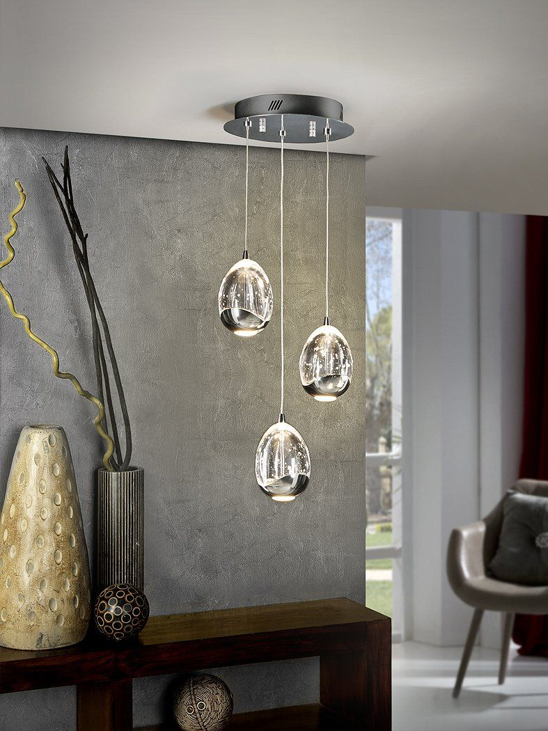 Purchase The Rocio 3l Pendant Chromed Lamp For 600 00 Online Receive An Award Winning Customer Service And Free Shipping In 2020 Chrome Lamp Ceiling Pendant Lamp