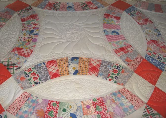 wanted to share this link of our friend Karen Walker - if you have quilting needs - check her out - even if you dont', go look at pictures of her quilting magic!  http://chezstitches.blogspot.com/2013/05/vintage-quilt-tops.html