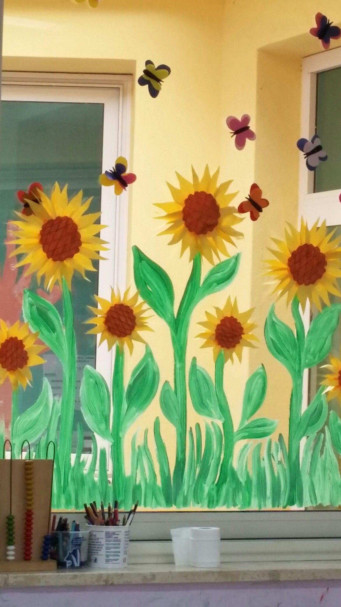 Finestra In Primavera Decorazioni Per Vetri Printemps Idees