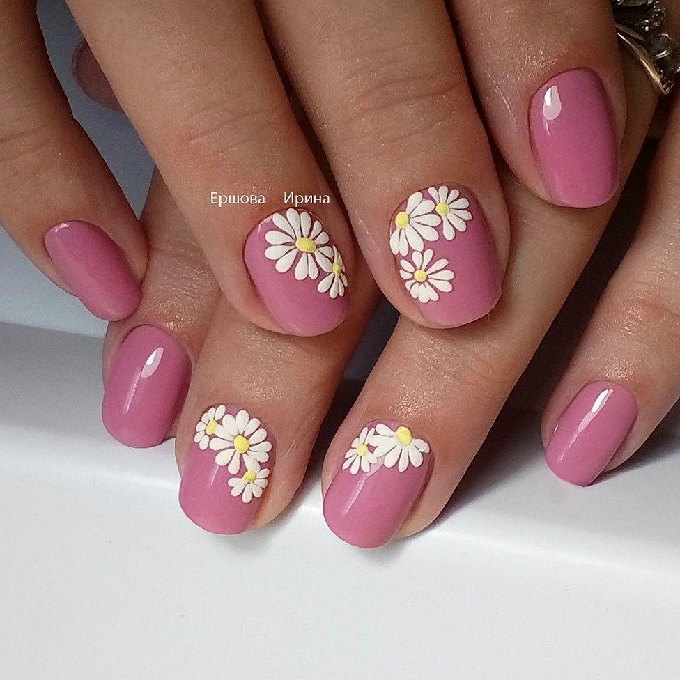 рисунок | Nagelkunst Design | Pinterest | Manicure, Sunflower nail ...