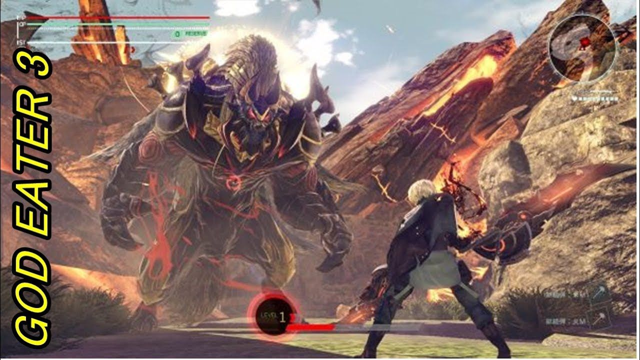 GOD EATER 3 17 minutos jogo RPG Gameplay 2018( PS4, PC