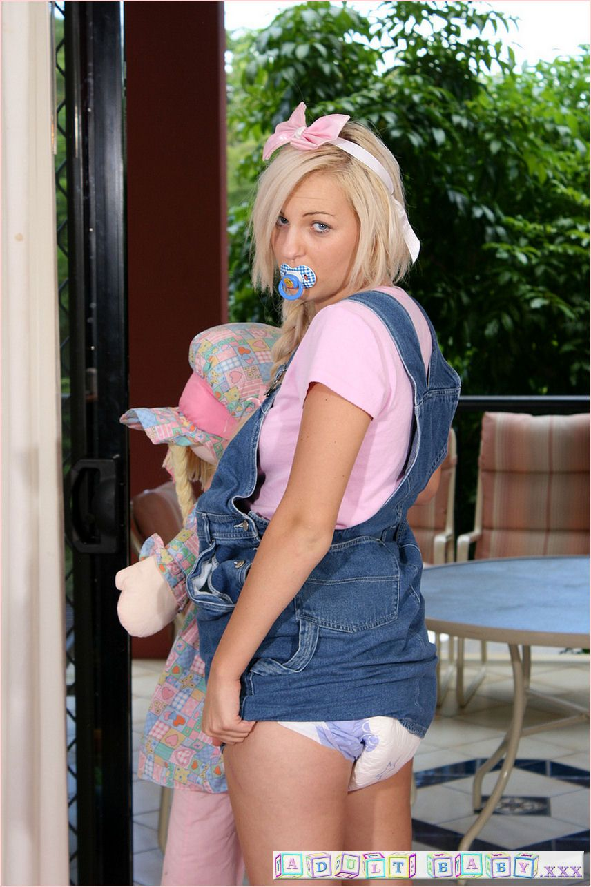 Adult Baby Overalls 74