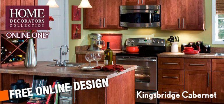 home decorators online cabinetry kingsbridge cabernet