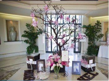 arbre pour plan de table projets essayer arbres de mariage g teaux de mariage country et