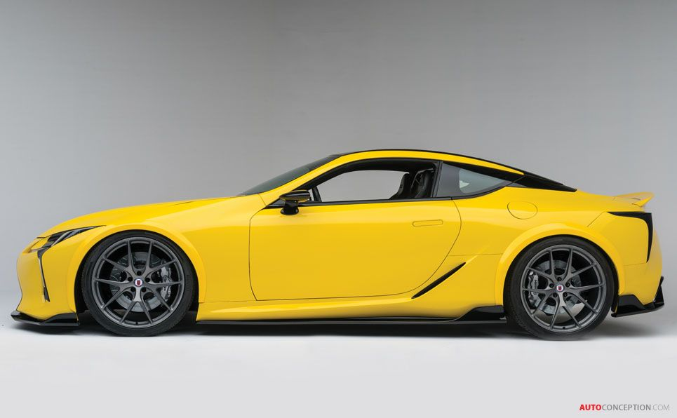 Racing-Inspired Version of Lexus LC 500 Unveiled at SEMA