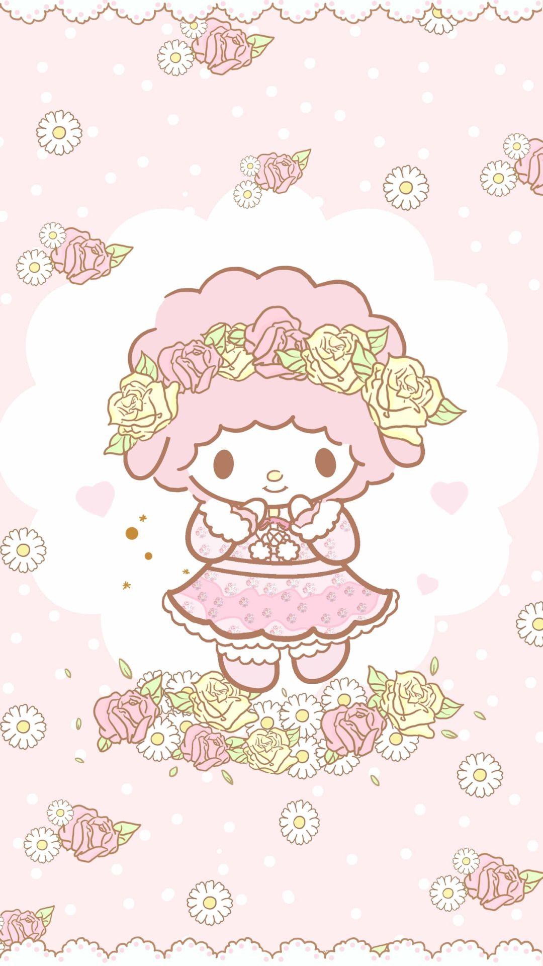 My Sweet Piano My Melody Wallpaper Hello Kitty My Melody Hello Kitty Wallpaper