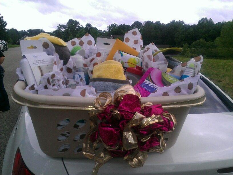 College bound high school grad gift basket gifts pinterest college bound high school grad gift basket negle Gallery