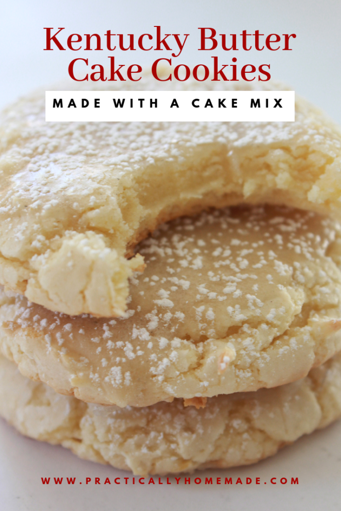 Kentucky Butter Cake Cookies Recipe | Practically Homemade