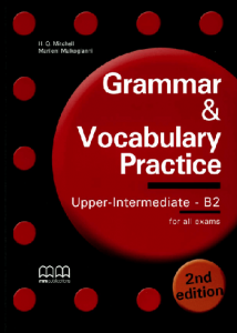 Download Grammar And Vocabulary Practice Upper Intermediate B2 2nd Edition Pdf Vocabulary Practice Grammar And Vocabulary Vocabulary