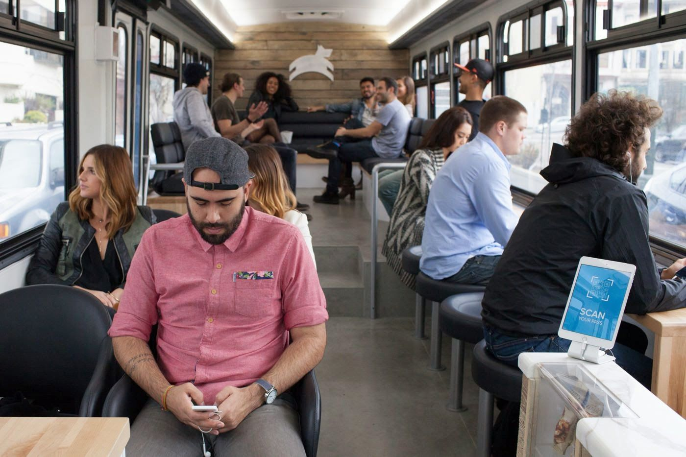 The Pop Up Hype Pops Up in San Francisco's Public Transport