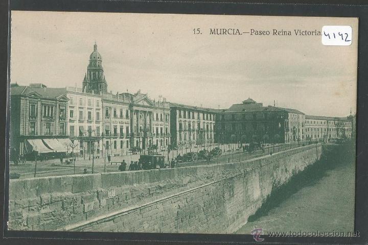 MURCIA - PASEO REINA VICTORIA - P4142 (Postales - España - Murcia Antigua (hasta 1.939))