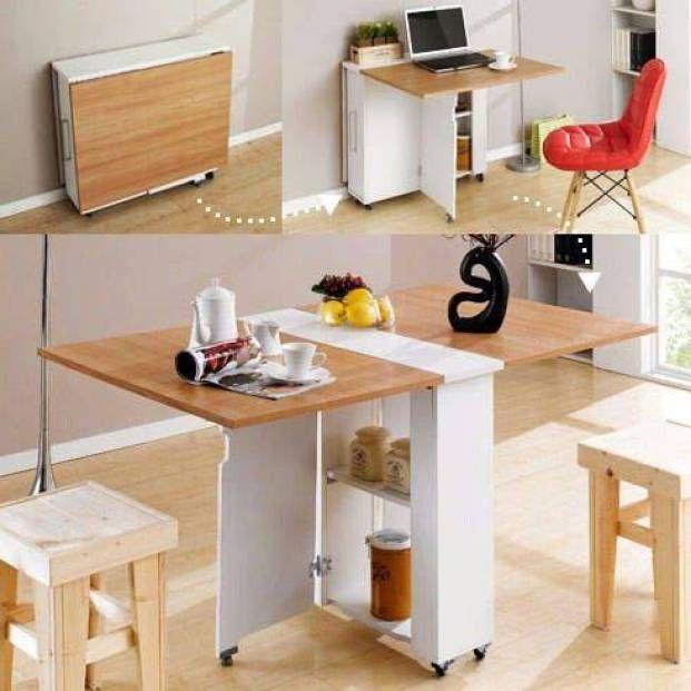 Ideas ingeniosas para ahorrar espacio con mesas beatriz muebles ahorrar espacio y muebles hogar - Muebles ahorra espacio ...