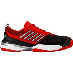 K-swisstennis Herren Tennisschuhe Allcourt Knitshot, Größe 42 in Fiery/Red/Black, Größe 42 in Fiery/