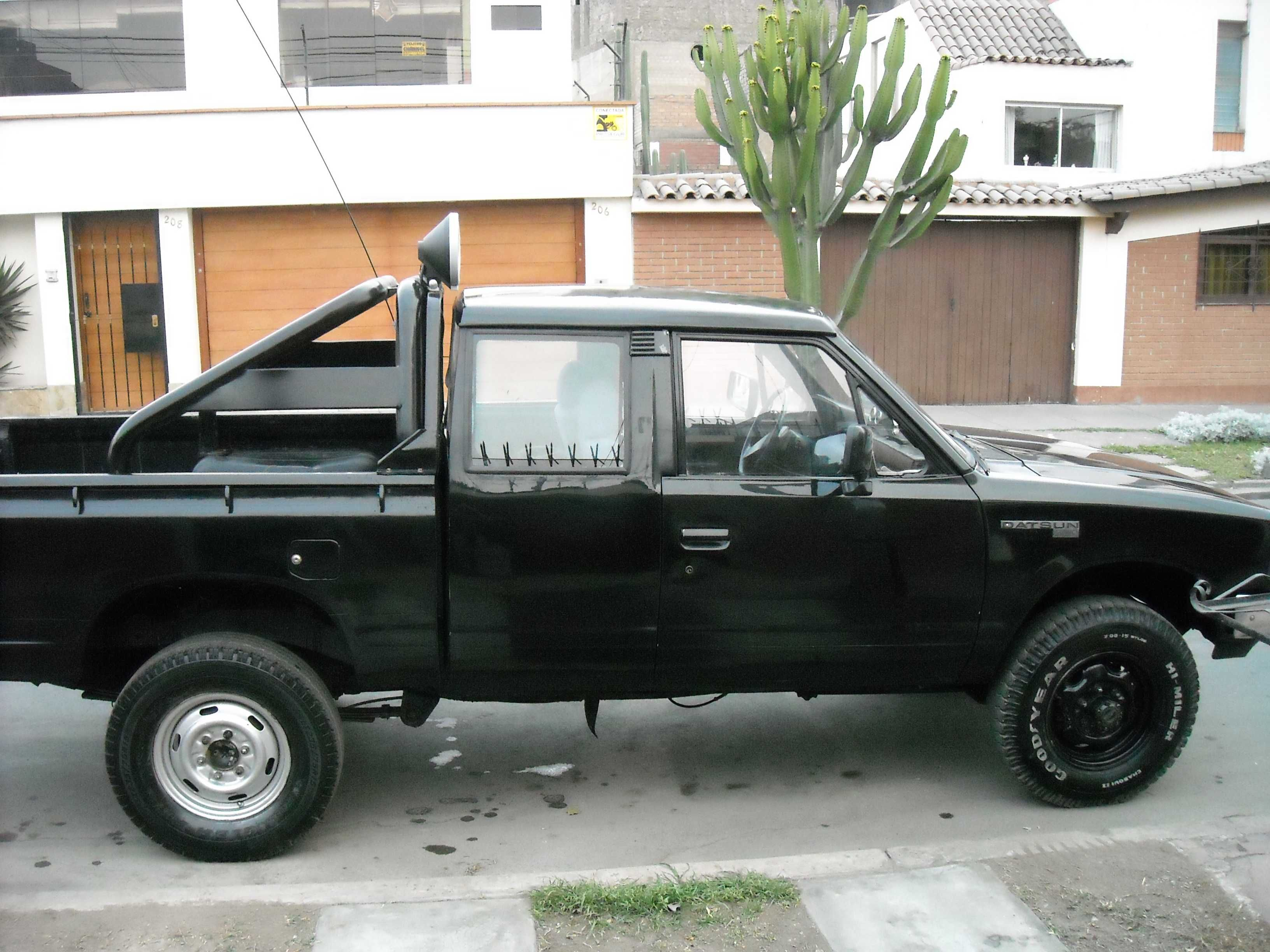 nissan datsun 84 pickup 4x4 nissan 720. Black Bedroom Furniture Sets. Home Design Ideas