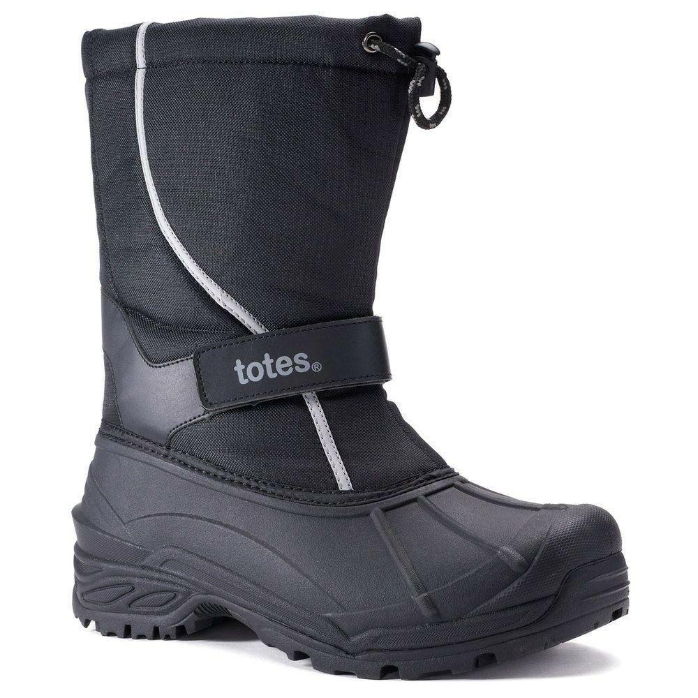 totes Tidal Mens Slip On Waterproof