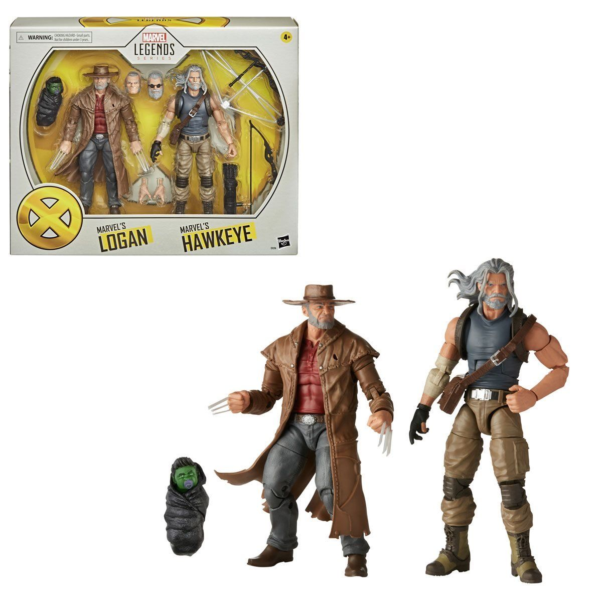 Marvel Legends X-Men 20th Anniversary Old Man Logan and Old Man Hawkeye 2 pack