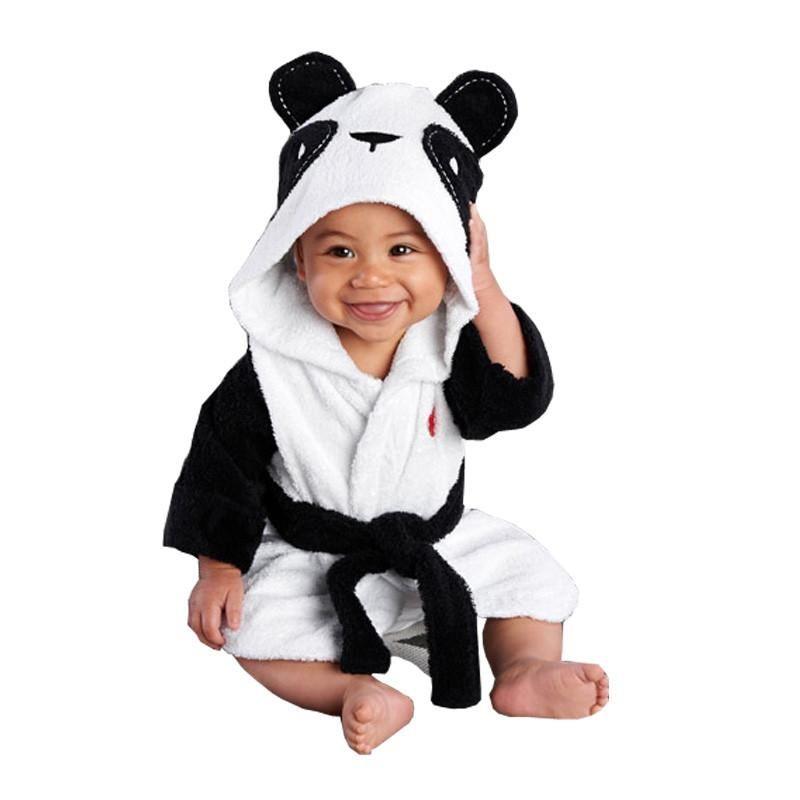 c58dabe5c Boy Girl Baby Toddler Kids Gifts - Hooded Animal Bath Robe ...