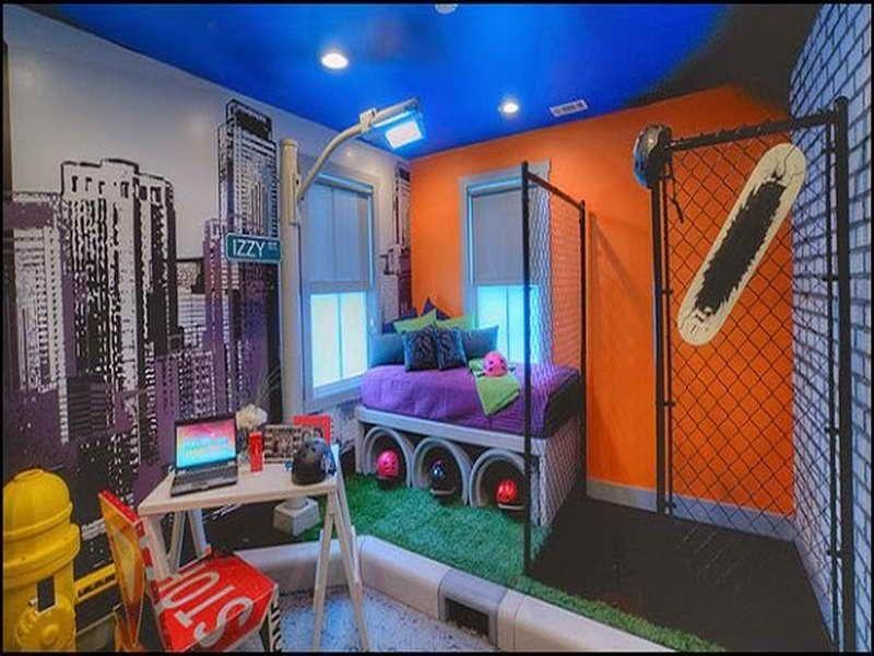 Punk Rock Bedroom Ideas | Music theme bedrooms - rock ...